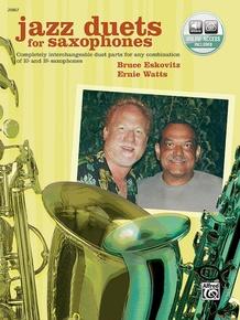 Jazz Duets for Saxophones