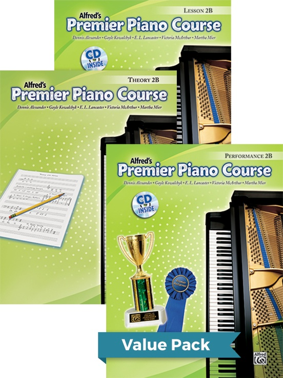 Premier Piano Course, Lesson, Theory & Performance 2B 2012 (Value Pack)