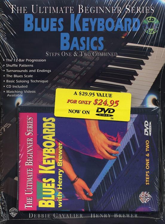 Ultimate Beginner Series Mega Pak: Blues Keyboard Basics