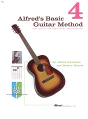 Alfred's Basic Guitar Method 4