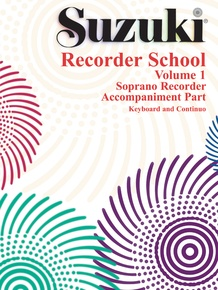 Suzuki Recorder School (Soprano Recorder) Accompaniment, Volume 1 (Revised)
