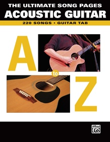 The Ultimate Song Pages Acoustic Guitar: A to Z