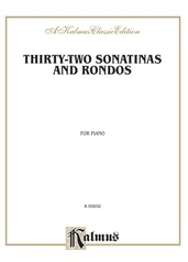 Thirty-Two Sonatinas & Rondos (Kleinmichel)