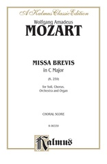 Missa Brevis in C Major, K. 259
