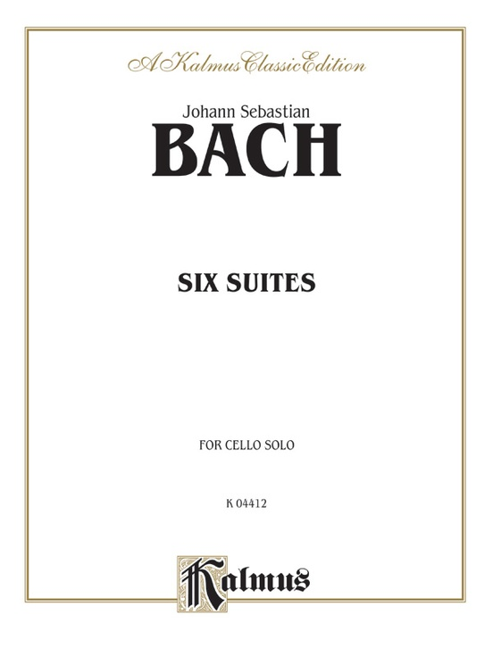 Six Suites for Cello Solo