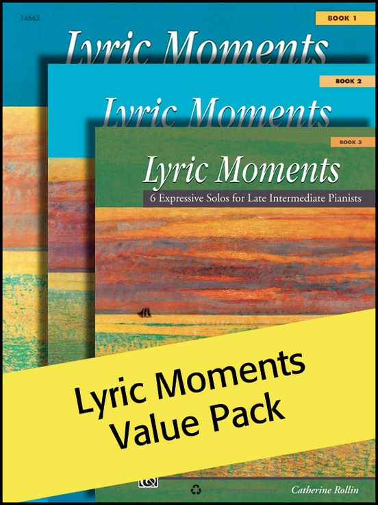Lyric Moments 1-3 (Value Pack)