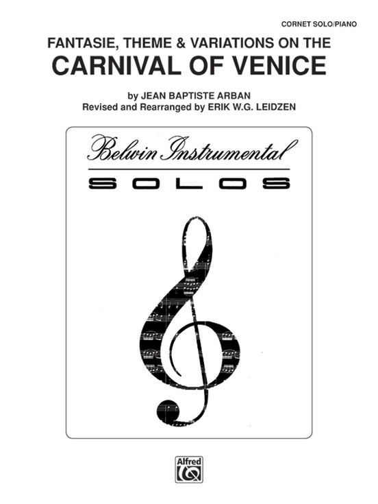 Carnival of venice fantasie theme and variations trumpet parts carnival of venice fantasie theme and variations fandeluxe Choice Image