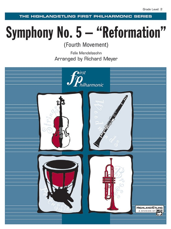 "Symphony No. 5 ""Reformation"" (4th Movement)"