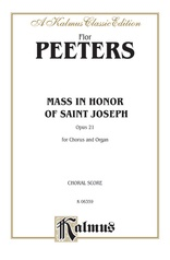 Mass in Honor of Saint Joseph, Opus 21