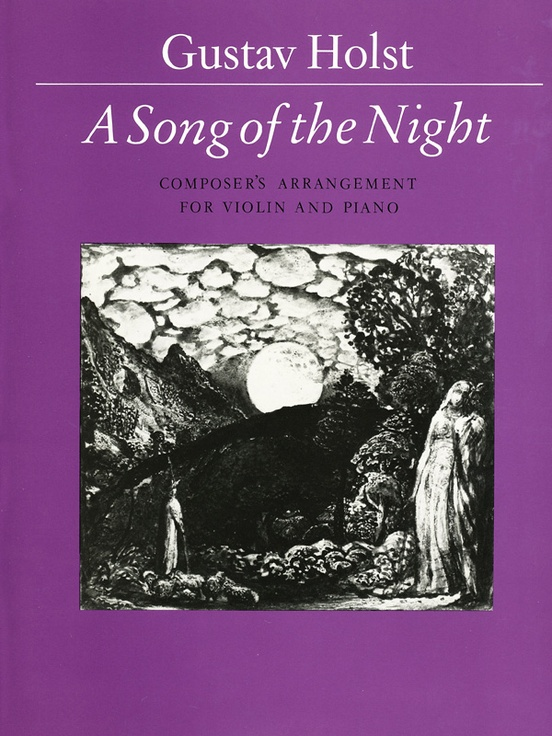 Song Of The Night Violin Piano Score Part Gustav Holst