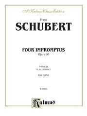 Four Impromptus, Opus 90