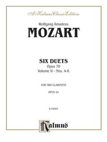 Six Duets, Volume II (Nos. 4-6)