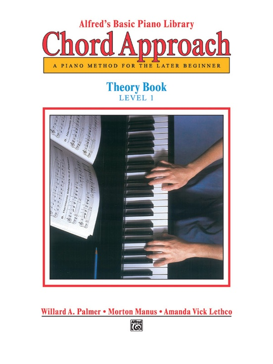 Alfreds Basic Piano Chord Approach Theory Book 1 Piano Book