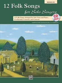 12 Folk Songs for Solo Singers