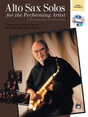 Alto Sax Solos for the Performing Artist