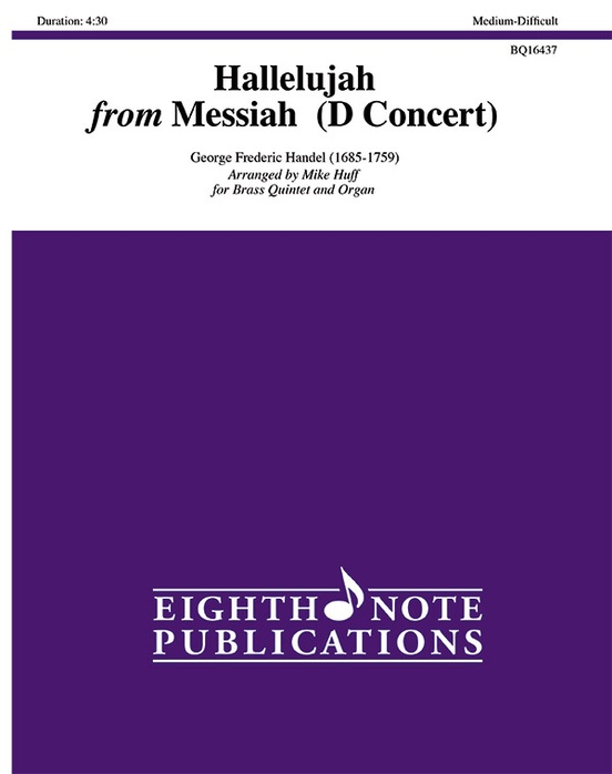 Hallelujah from Messiah (D Concert)