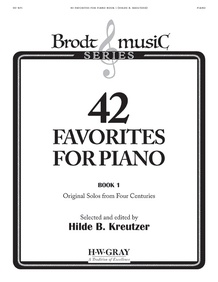 42 Favorites for Piano, Book 1
