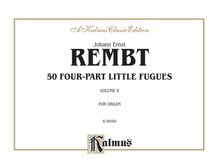 50 Four-part Little Fugues, Volume II
