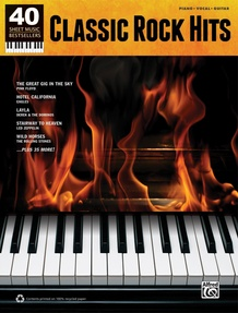 40 Sheet Music Bestsellers: Classic Rock Hits