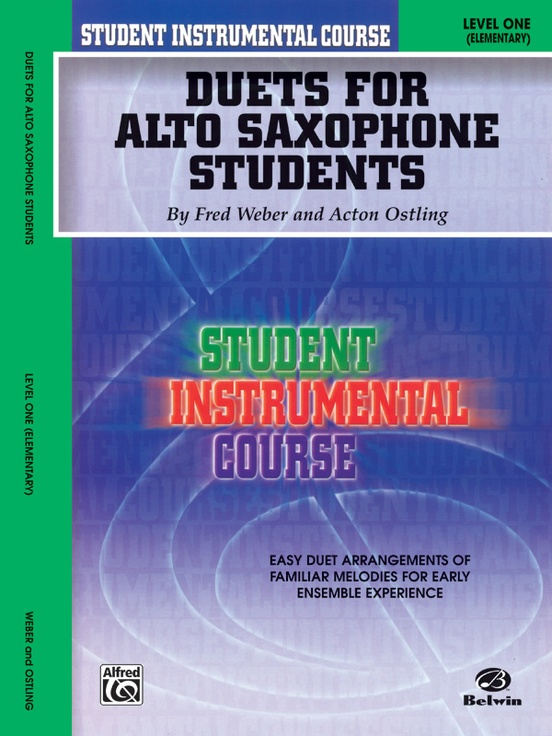 Student Instrumental Course: Duets for Alto Saxophone Students, Level I
