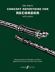 Concert Repertoire for Descant Recorder