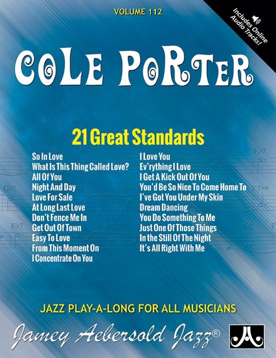 Jamey Aebersold Jazz, Volume 112: Cole Porter