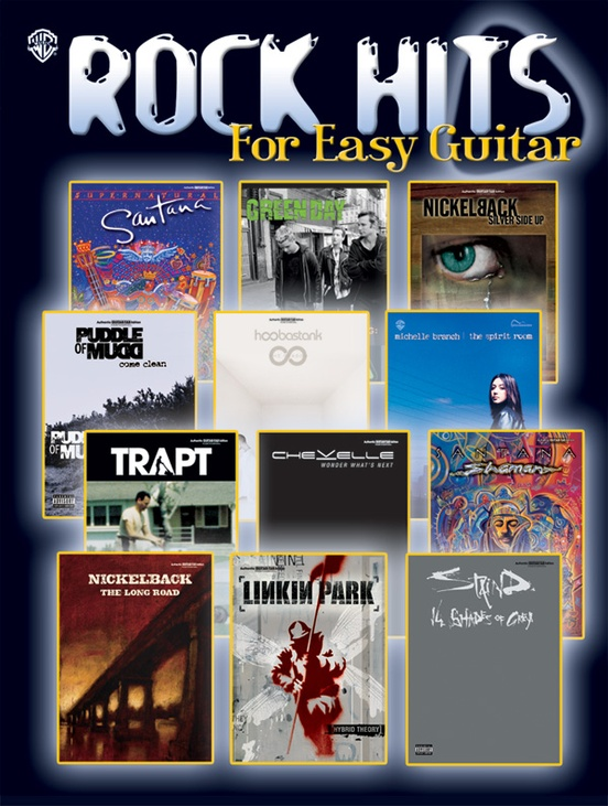 Rock Hits for Easy Guitar: