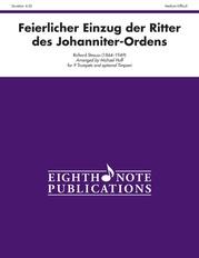 Feierlicher Einzug der Ritter des Johanniter-Ordens