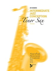 Intermediate Jazz Conception: Tenor Sax