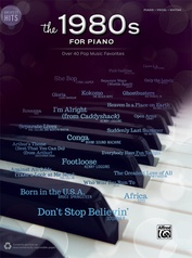 Greatest Hits: The 1980s for Piano