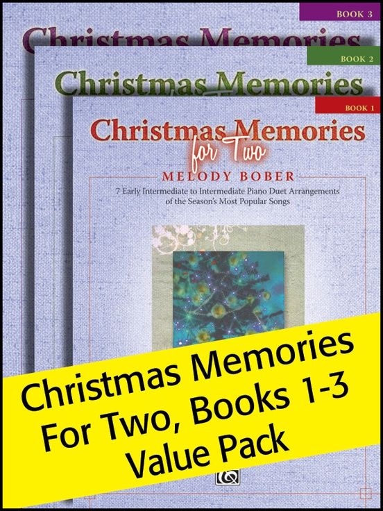 Christmas Memories for Two 1-3 (Value Pack)