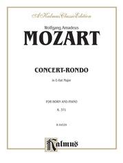Concert-Rondo in E-flat Major, K. 371