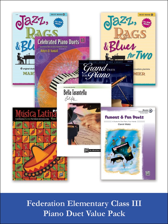 Federation Elementary Class III Piano Duet (Value Pack)