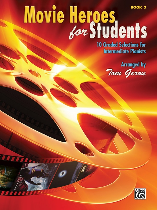 Movie Heroes for Students, Book 3