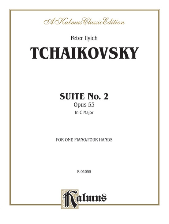 Suite No. 2 in C Major, Opus 53