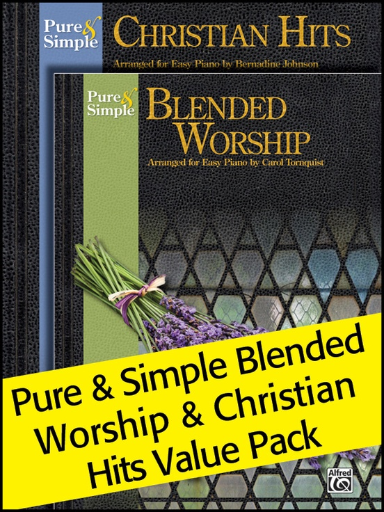 Pure & Simple Blended Worship and Christian Hits 2012 (Value Pack)