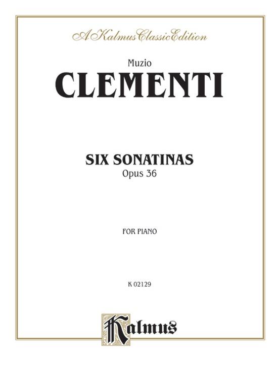 Six Sonatinas, Opus 36