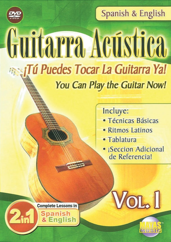 2 in 1 Bilingual: Guitarra Acústica Vol. 1