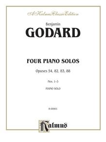 Four Piano Solos, Opuses 54, 82, 83, 88, Nos. 1--3