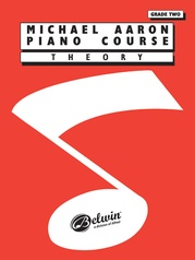 Michael Aaron Piano Course: Theory, Grade 2