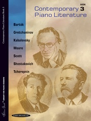 Contemporary Piano Literature, Book 3