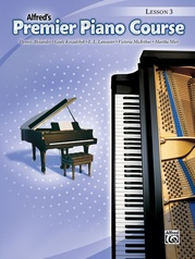 Premier Piano Course, Lesson 3