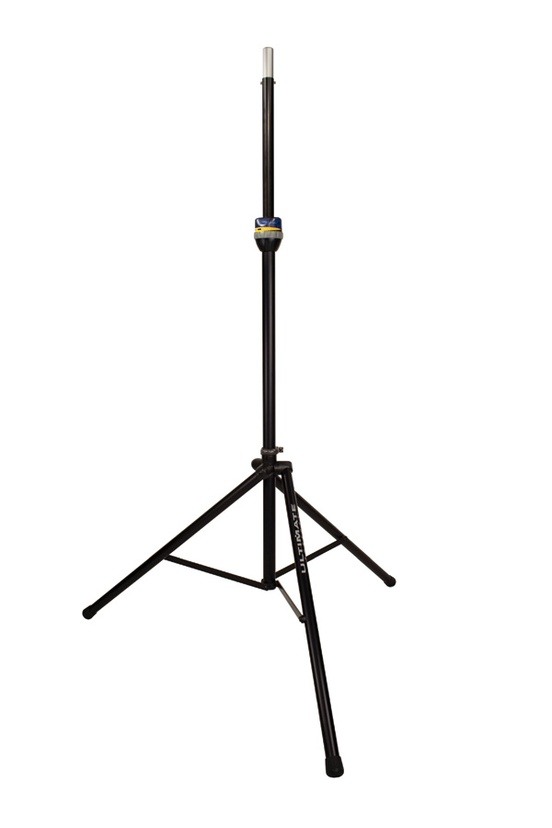 Ultimate Support TS-99B TeleLock™ Series Lift-Assist Aluminum Speaker Stand (Black) - Extra Height