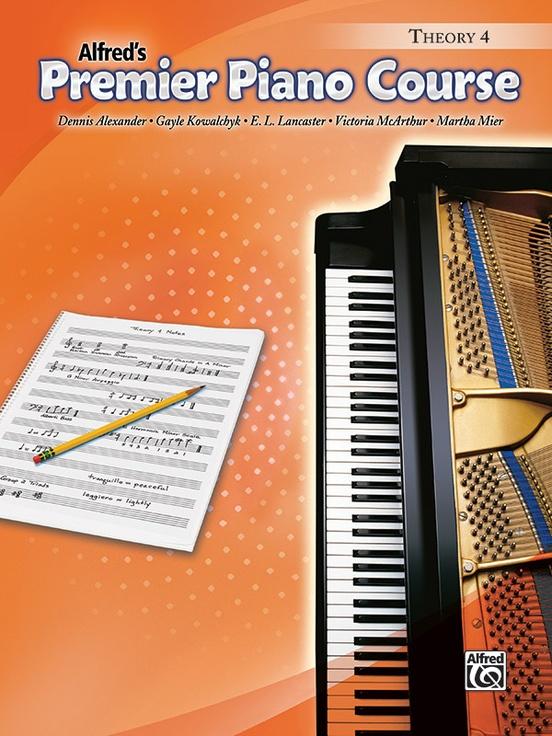 Premier Piano Course, Theory 4