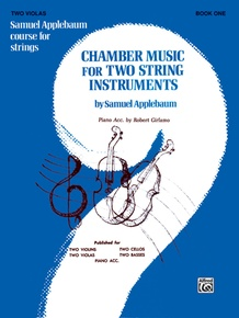 Chamber Music for Two String Instruments, Book I