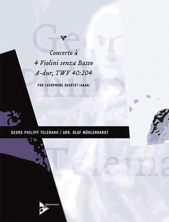 Concerto à 4 Violini senza Basso A-Dur TWV 40:204