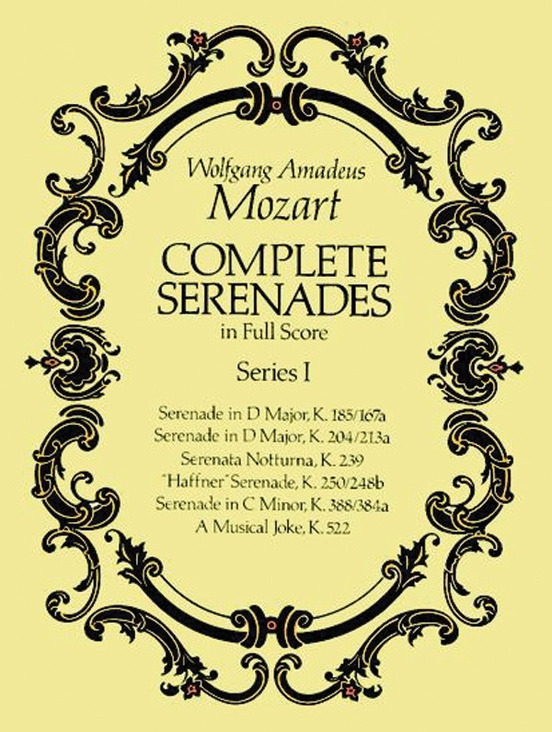 Complete Serenades, Series I