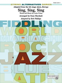 Sing, Sing, Sing (adapted from the stage show <i>Barrage</i>)