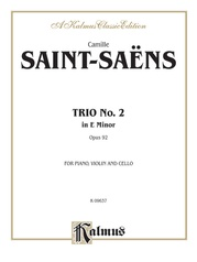 Trio No. 2, Opus 92