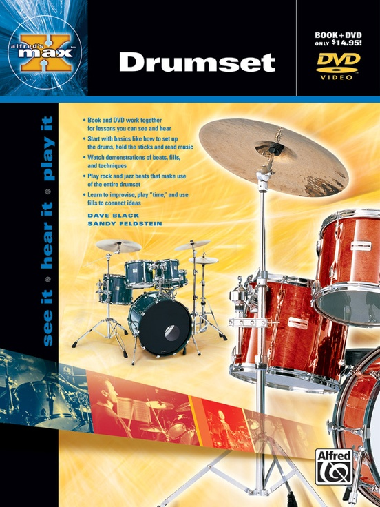 Alfred's MAX™ Drumset